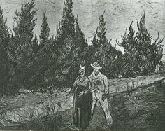 The Lovers The Poet s Garden IV - Vincent van Gogh