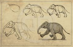 The Art of Aaron Blaise Find more at https://www.facebook.com/CharacterDesignReferences if you ar looking for: #art #character #design #model #sheet #illustration #best #concept #animation #drawing #archive #library #reference #anatomy #traditional #draw #development #artist #animal #animals #elephants