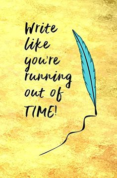 Write Like You're Running Out of Time!: Blank Journal | Quote from Hamilton | Broadway Musical | Inspirational Quote | If you stand for nothing, you will fall for anything! | Lin-Manuel Miranda | Blank Journal