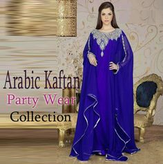 Arabic Kaftan Party Wear Collection 2015 | Latest Party Wear Dress Trends http://fashiondesignslatest2012.blogspot.com/2015/01/arabic-kaftan-party-wear-collection.html