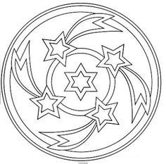 Mandala estrella d'orient