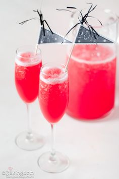 perfect new year's eve party punch