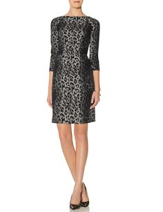 Leopard Print Sheath Dress --//-- the limited on sale $45
