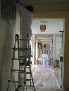 El sábado 16 de junio veinte voluntarios de la Fundación Repsol llevaron a cabo la rehabilitación del centro ocupacional de la Fundación AFANDEM (Móstoles), organizada por Cooperación Internacional ONG.