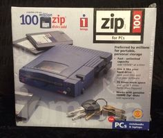IOMEGA 100 PC EXTERNAL ZIP DISK DRIVE 10919 PARALLEL PORT DATA MEDIA STORAGE  #Iomega
