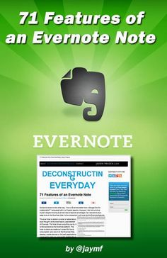 Evernote Notes have 72 Features not 71 by Jason Frasca