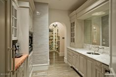 Like www.facebook.com/VaLuxuryHouses Luxury kitchen interiors butlers pantry