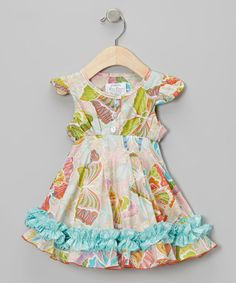 Take a look at this Butterfly Vintage Babydoll Dress - Infant, Toddler & Girls by Dew Drops Couture on #zulily today!