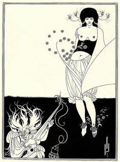 The Stomach Dance, 1893, Aubrey Beardsley