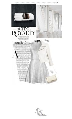 """""""Acting royalty"""" by miss-milika ❤ liked on Polyvore featuring Markus Lupfer, Yigal AzrouÃ«l, Linda Farrow and Jimmy Choo"""