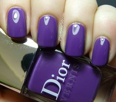 Nail of the Day: Dior Ultra Violet #687   Pointless Cafe