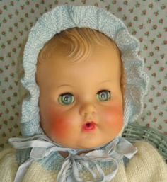 50'S CONSTANCE BANNISTER VINYL BABY DOLL BY SUN RUBBER CO. (10/13/2011)