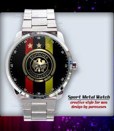 New Rare Germany Soccer Logo Sport Metal Watch