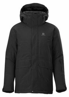Salomon Chillout Black Junior. Vêtements enfant Vestes isolées doublure séparée, Snowinn.com, Acheter, Offres, ski 117
