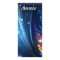 Personalized Psychedelic Galaxy Bookmarks $0.45 ea.