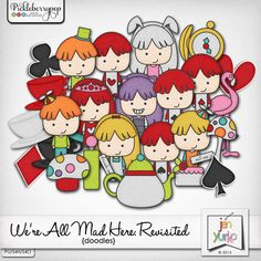 We're All Mad Here: Revisited {Doodles}