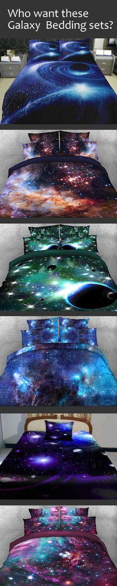 Newest galaxy beddingsets