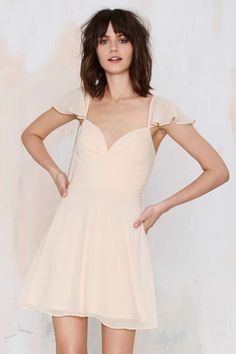 Nasty Gal All A Flutter Dress | Shop What's New at Nasty Gal