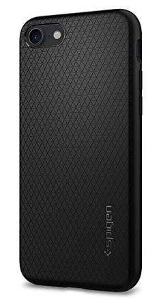 Spigen Liquid Air iPhone 7 Case with Durable Flex and Easy Grip Design for IPhone 7 2016  Black ** Learn more by visiting the image link.