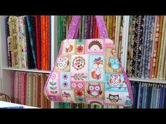 ▶ Bolsas - Bolsa em tecidos Dominique - Maria Adna Ateliê - Aula bolsa - Bolsas tecidos - YouTube