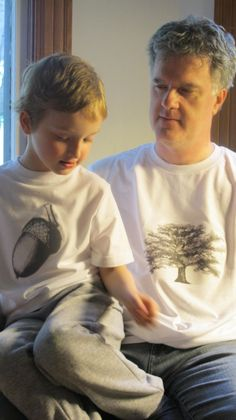 The Nut Doesn't Fall Far From the Tree T-shirts #fathersday