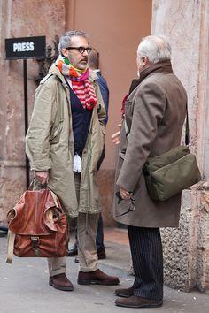 older italian street style men