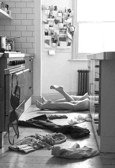 ✔ on the kitchen floor  Bucket List. To do, before the I Do's.