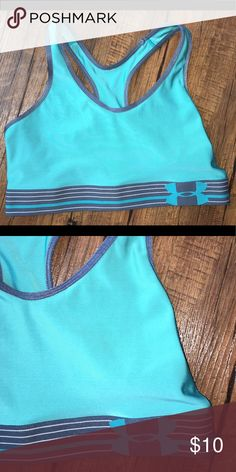 Under armour sports bra Women's medium teal under armour sports bra, worn once Under Armour Intimates & Sleepwear Bras