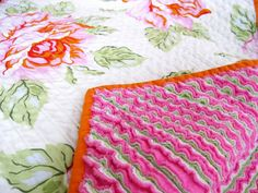 another chenille blanket!! to die for