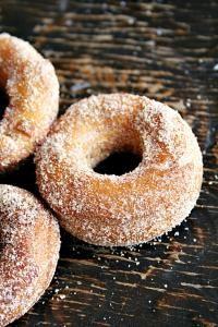 Pumpkin Apple Cider Doughnuts on MyRecipeMagic.com #doughnuts #apple #cider #pumpkin