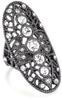 House of Harlow 1960 Gunmetal Oval Finger Ring http://www.amazon.com/dp/B004QWYX60/ref=cm_sw_r_pi_dp_mymGpb1S4JXB8