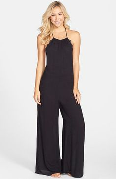 Free People 'Love Lorn' Pajama Jumpsuit available at #Nordstrom