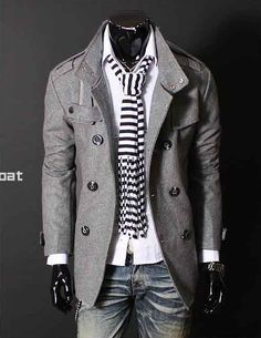 I LOVE this kind of fashion for guys.