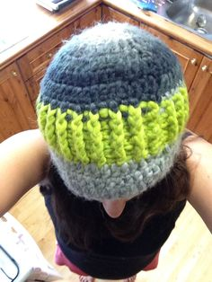 Ribbed beanie - inspired by pinterest