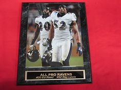 Ray Lewis Baltimore Ravens Plaques