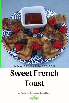 Do you love a sweet treat in the morning, or maybe even for some brunch? This sweet french toast will not let you down. Easy to make, delicious and filling.