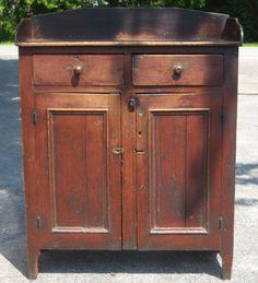 19th century Pennsylvania jelly cupboard