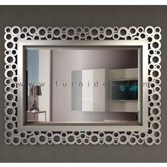 Kode Produk IDCD201, Ukuran 110 * 83 cm, Finishing Silver Duco Bahan Dasar  Kayu Mahoni, Tlp. 0291-4298007 SMS/ WA : 087833592100