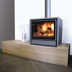 Jide Nordic Living Fire Wood Burning Stove