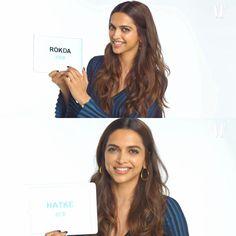 Deepika Padukone teaches Hindi Slang