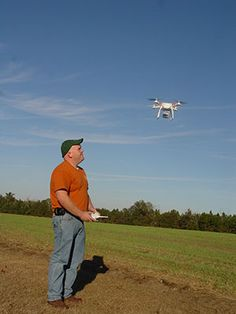 The Farmer and the Drone: UAVs and Agriculture http://nationalpeanutboard.org/farmlife-sustainability/the-farmer-and-the-drone-uavs-and-agriculture/