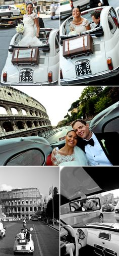 Romantic Rome, Italy Destination Wedding   Junebug Weddings