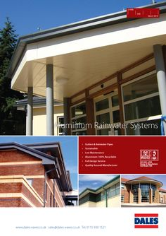 Our new Aluminium gutters and downpipe literature is out now and available from www.dales-eaves.co.uk