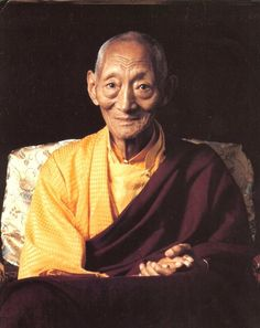 Kalu Rinpoche -one of the truly great tibetan yogis, teacher of many western students in the 20th century