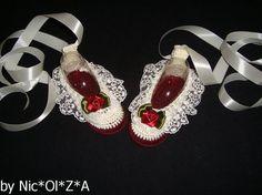 Newborn Baby Girl Handmade Crochet Cream  by CrochetCafeNicOlZA
