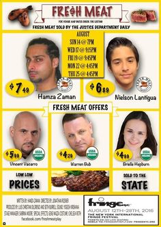 Fresh meat play Fringe international festival  @ Teatro LATEA - 14-August…