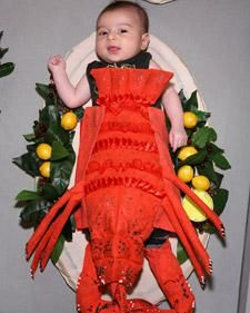 Lobster Baby Costume How-To