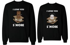 If you are looking for a high quality matching sweatshirts, this is it! Made in USA, our couples matching sweatshirts are individually printed using a digital printer and quality is assured. Put smile
