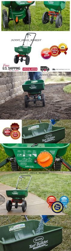 Seeders and Spreaders 118869: Scotts Turf Builder Mini Broadcast Spreader Fertilizer Lawn Soil Feed Seed Green -> BUY IT NOW ONLY: $49.9 on eBay!