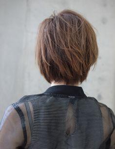 大人の褒められショート(HR-137)   ヘアカタログ・髪型・ヘアスタイル AFLOAT(アフロート)表参道・銀座・名古屋の美容室・美容院